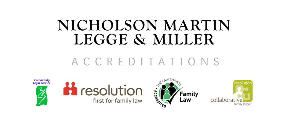 Nicholson Martin Accreditations